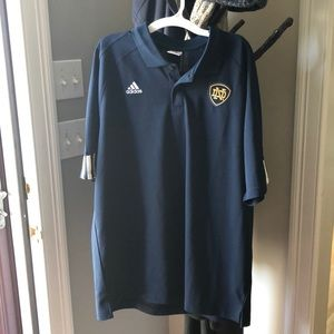 Men's adidas Notre Dame shirt